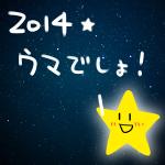 2014年 あけましておめでとうございます。